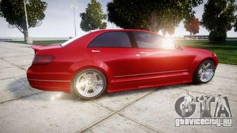 GTA V Benefactor Schafter body wide rims для GTA 4 вид слева