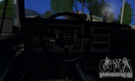 Jeep Mini-Truck для GTA San Andreas вид сзади слева