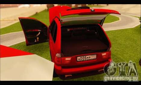 BMW X5 для GTA San Andreas вид сбоку