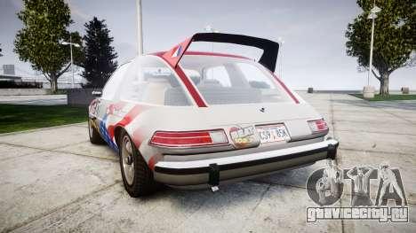 AMC Pacer для GTA 4 вид сзади слева