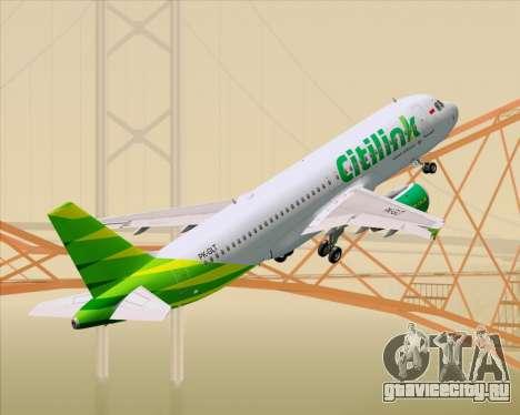 Airbus A320-200 Citilink для GTA San Andreas