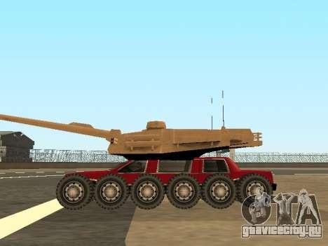 Tink Tank для GTA San Andreas вид справа