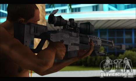 Raab KM50 Sniper Rifle From F.E.A.R. 2 для GTA San Andreas четвёртый скриншот