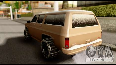 GTA 5 RancherXL для GTA San Andreas вид сзади слева