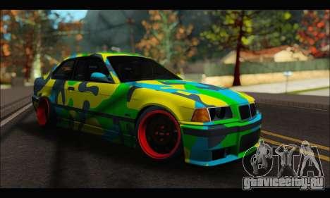 BMW M3 E36 Camo Style для GTA San Andreas