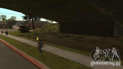 Перевозка танка в трейлере для GTA San Andreas второй скриншот