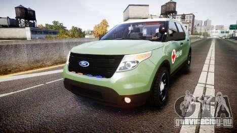 Ford Explorer 2013 Army [ELS] для GTA 4
