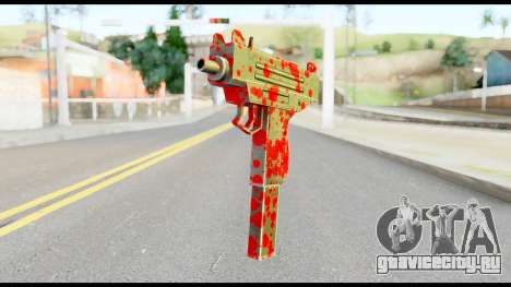 Micro SMG with Blood для GTA San Andreas