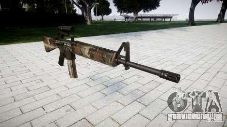 Винтовка M16A2 [optical] erdl для GTA 4