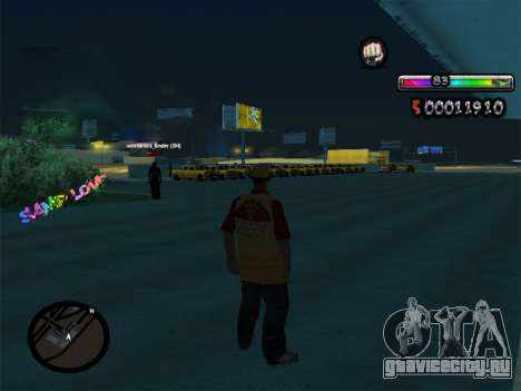 C-HUD by nester_n для GTA San Andreas второй скриншот
