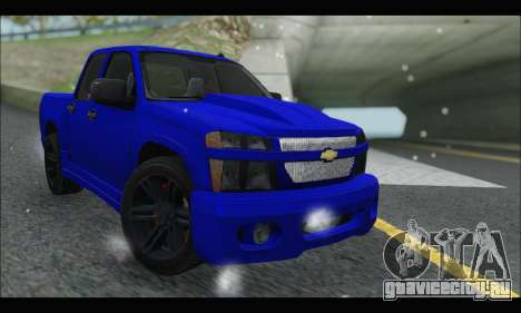 Chevrolet Colorado Codered 2004 для GTA San Andreas