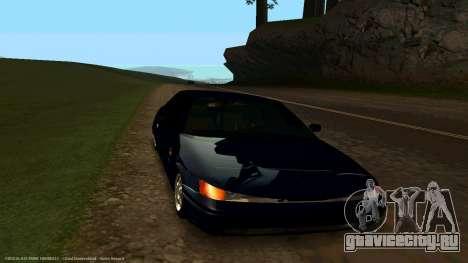 ВАЗ 21123 Bad Boy для GTA San Andreas вид сзади