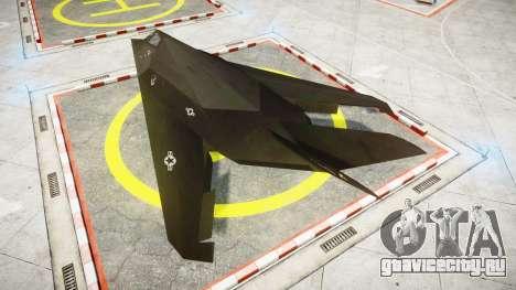 Lockheed F-117 Nighthawk для GTA 4 вид слева