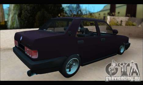 Tofas Dogan S для GTA San Andreas вид сзади слева