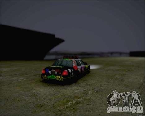 Ford Crown Victoria Ghetto Style для GTA San Andreas вид слева