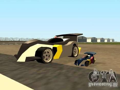 RC Bandit (Automotive) для GTA San Andreas салон