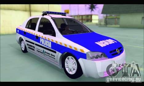 Chevrolet Astra Policia Vial Bonaerense для GTA San Andreas