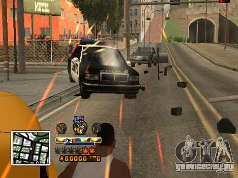 C-HUD Color (улучшение) для GTA San Andreas второй скриншот