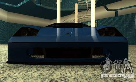 HD Turismo для GTA San Andreas вид сзади