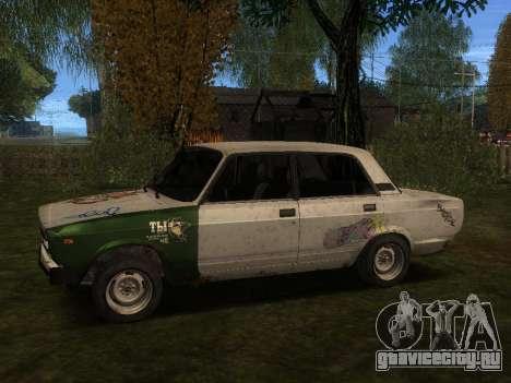 ВАЗ 2105 Ржавое корыто для GTA San Andreas вид слева