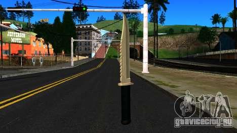 Knife from GTA 4 для GTA San Andreas второй скриншот