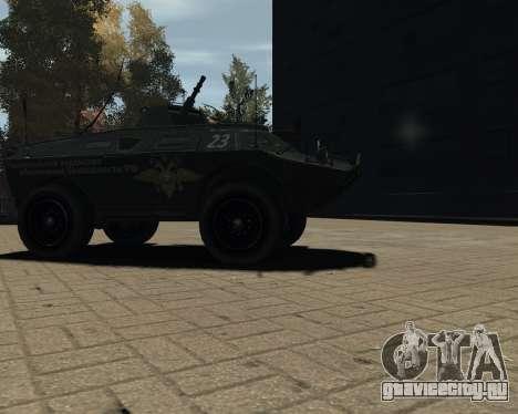 APC-БТР РФ для GTA 4 вид справа