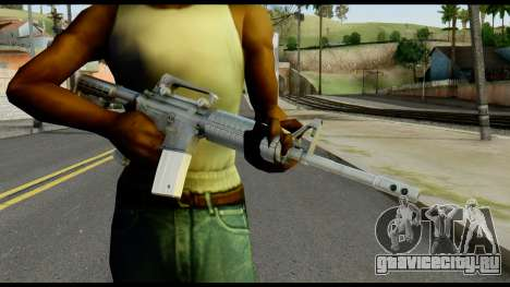 Colt Commando from Max Payne для GTA San Andreas третий скриншот