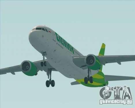 Airbus A320-200 Citilink для GTA San Andreas двигатель
