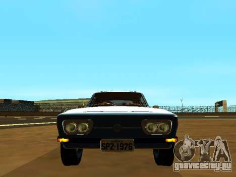 Volkswagen SP2 Original для GTA San Andreas вид сзади слева