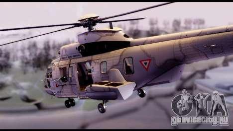 EC-725 Super Cougar для GTA San Andreas вид слева
