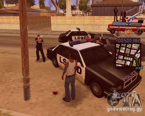 C-HUD Russian Mafia для GTA San Andreas пятый скриншот