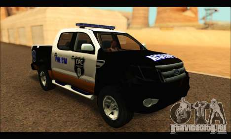 Ford Ranger P.B.A 2015 Text3 для GTA San Andreas
