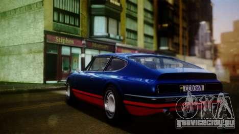 GTA 5 Lampadati Pigalle для GTA San Andreas вид слева