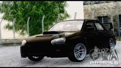 Subaru Impreza Hellaflush 2004 для GTA San Andreas