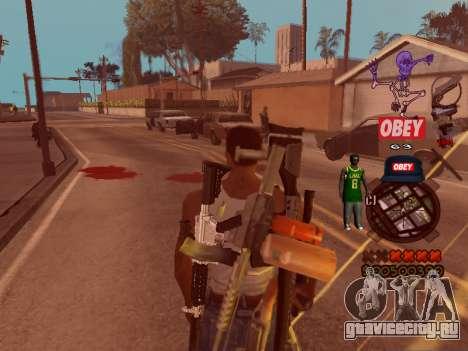 C-HUD Sweet для GTA San Andreas третий скриншот
