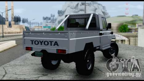 Toyota Land Cruiser Macho Pick-Up 2007 4.500 для GTA San Andreas вид слева