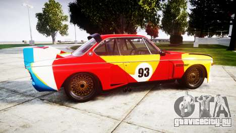 BMW 3.0 CSL Group4 1973 Art для GTA 4 вид слева
