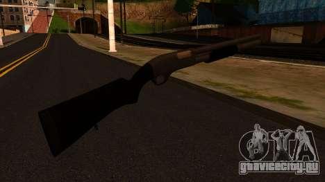 Чёрный MP-133 Серебряный для GTA San Andreas второй скриншот