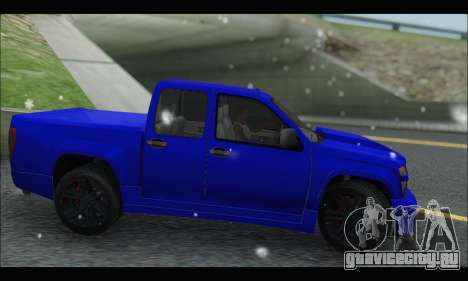 Chevrolet Colorado Codered 2004 для GTA San Andreas вид слева