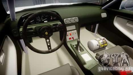 Nissan 240SX Sil80 для GTA 4 вид сзади