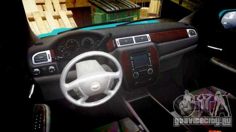 Chevrolet Tahoe 2013 Game Warden [ELS] для GTA 4 вид сзади