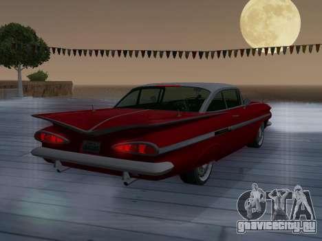 Chevrolet Impala 1959 для GTA San Andreas вид сверху