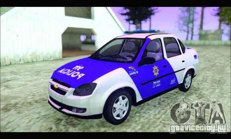 Chevrolet Corsa Classic Policia de Santa Fe для GTA San Andreas