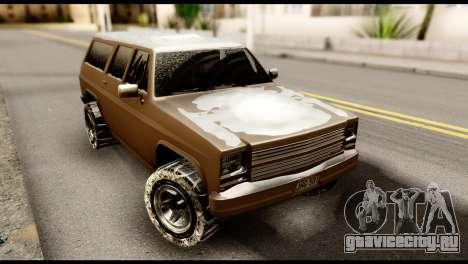 GTA 5 RancherXL для GTA San Andreas