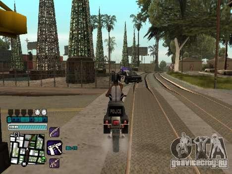 Beautiful C-HUD для GTA San Andreas четвёртый скриншот