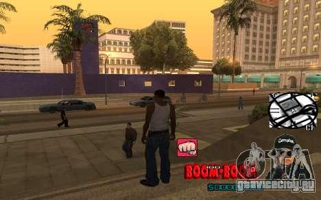 C-HUD Boom-Boom для GTA San Andreas