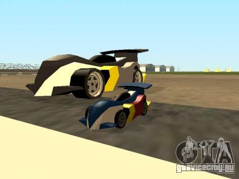 RC Bandit (Automotive) для GTA San Andreas вид сверху