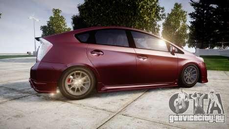 Toyota Prius для GTA 4 вид слева