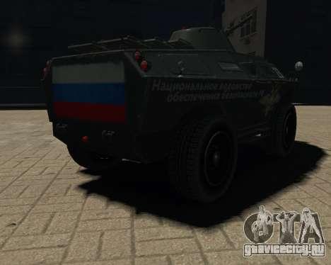 APC-БТР РФ для GTA 4 вид слева