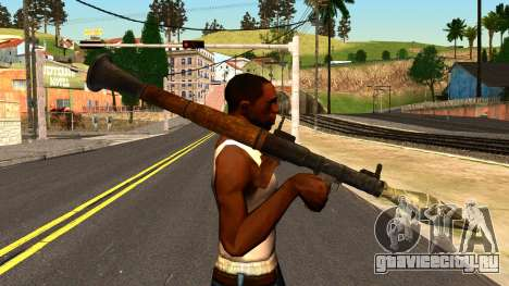 Rocket Launcher from GTA 4 для GTA San Andreas третий скриншот